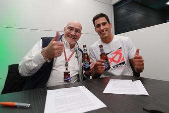 Xavi Vierge, Marc VDS Racing avec Marc van der Straten