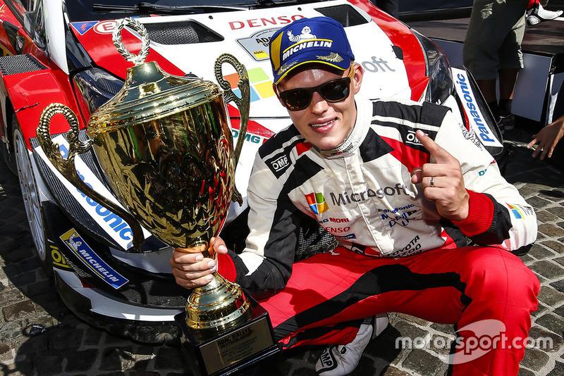 Driver of the Year 2018: Ott Tanak - Toyota Gazoo Racing. Per la terza volta consecutiva ha vinto il premio di miglior pilota WRC dell'anno.