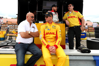 Ryan Hunter-Reay, Andretti Autosport Honda and Bobby Rahal