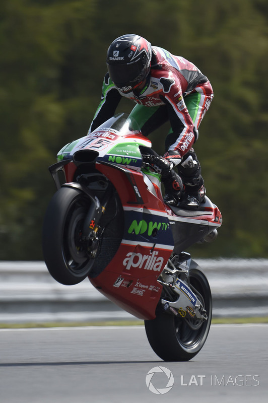 MotoGP Ceko: Scott Redding, Aprilia Racing Team Gresini