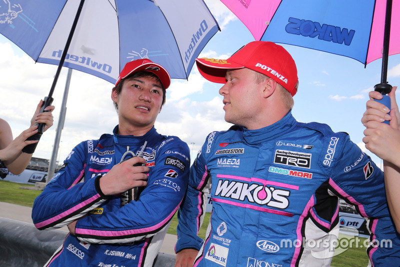 Kazuya Oshima dan Felix Rosenqvist(#6 WAKO'S 4CR LC500)
