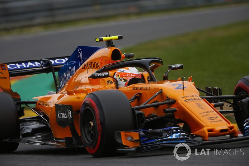 15. Stoffel Vandoorne, McLaren MCL33