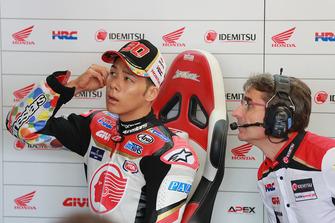 Takaaki Nakagami, Team LCR Honda, mit Ramon Aurin