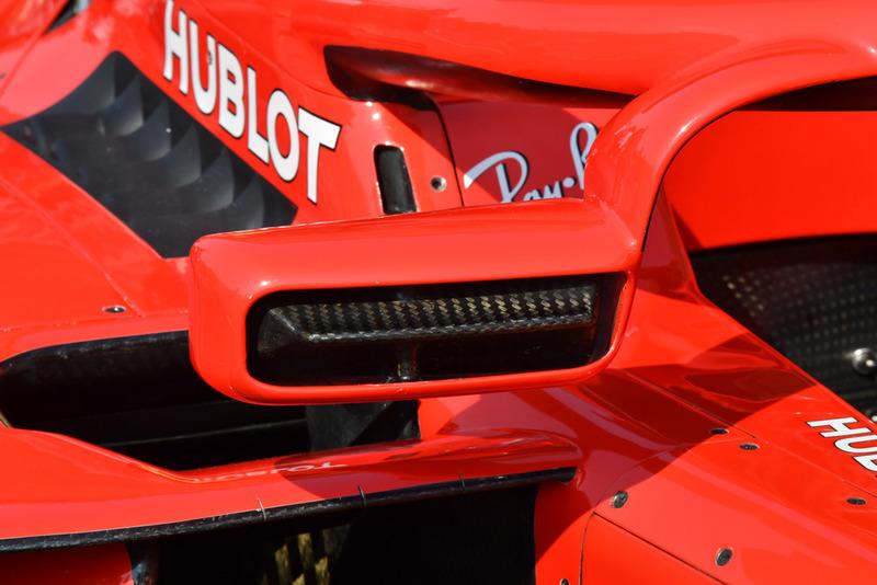 Ferrari SF71H mirror detail
