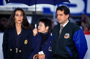 Viviane Senna da Silva, vista el GP de Japón