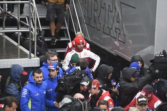 Danilo Petrucci, Pramac Racing, quitte la réunion de la Commission de sécurité