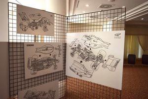 Mostra dedicata a Giorgio Piola per i suoi 50 in Formula 1