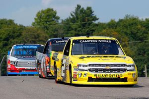 Cody Coughlin, GMS Racing, Chevrolet Silverado JEGS.com and Todd Gilliland, Kyle Busch Motorsports, Toyota Tundra Frontline