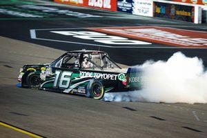 Brett Moffitt, Hattori Racing Enterprises, Toyota Tundra KOBE celebrates