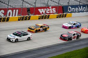 Toyota Camry Pace Car leads Christopher Bell, Joe Gibbs Racing, Toyota Camry Rheem