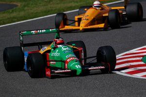 Aguri Suzuki, Benetton B188 Leyendas F1 30 aniversario