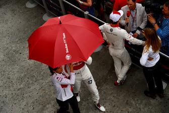 Marcus Ericsson, Sauber ve Charles Leclerc, Sauber