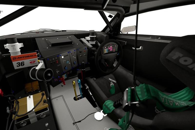 Lexus PETRONAS TOM'S SC430 '08 (Гр. 2)