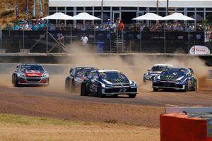 Johan Kristoffersson, PSRX Volkswagen Sweden leads Tom Banks