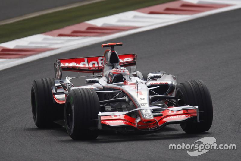 Fernando Alonso zu McLaren (2007)