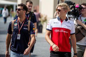 Daniel Ricciardo, Red Bull Racing en Marcus Ericsson, Sauber