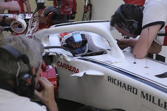 Tatiana Calderon, Sauber C37 Test sürücüsü