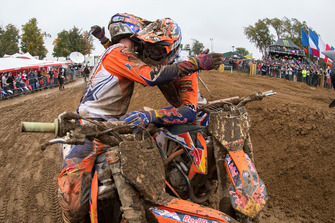 Jeffrey Herlings en Glenn Coldenhoff, Red Bull KTM Factory Racing