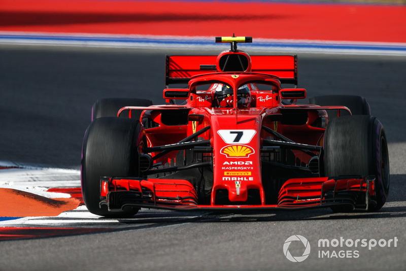 P4: Kimi Raikkonen, Ferrari SF71H