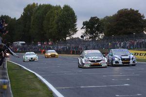 Ashley Sutton, Team BMR Subaru Levorg, Josh Cook, Power Maxed Racing Vauxhall Astra
