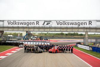 Tanner Foust, Volkswagen Motorsport, Scott Speed, Volkswagen Motorsport team