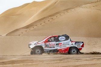 #301 Toyota Gazoo Racing Toyota Hilux: Нассер Аль- Аттія, Маттьйо Бомель
