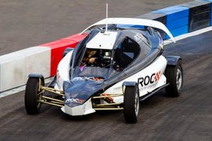 Terry Grant driving the ROC Car