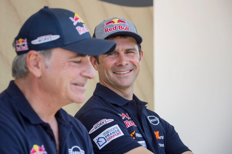 #300 X-Raid Mini JCW Team: Carlos Sainz, #308 X-Raid Mini JCW Team: Cyril Despres