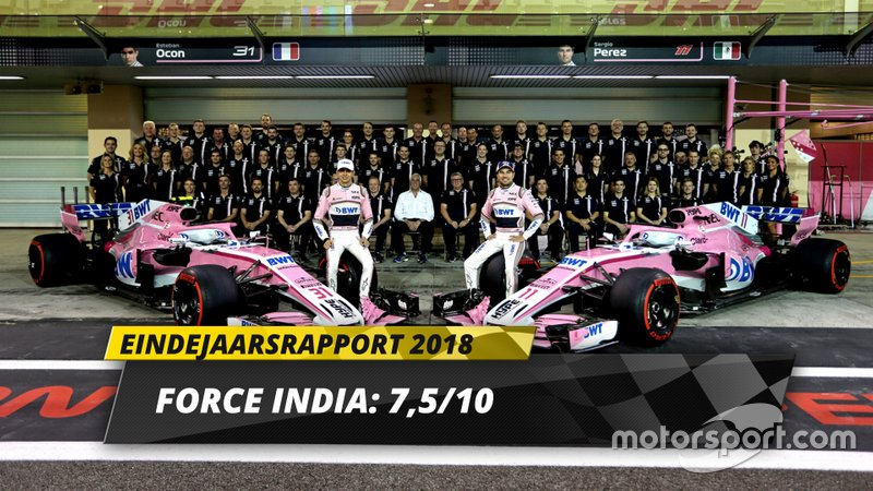 Eindrapport 2018: Racing Point Force India