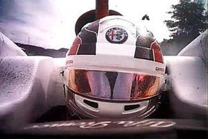 L'incidente tra Charles Leclerc, Sauber, e Fernando Alonso, McLaren MCL33