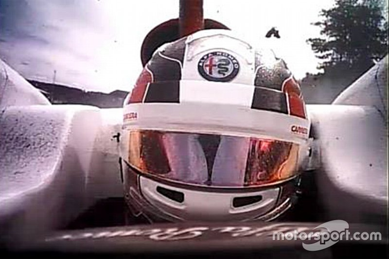 Imágenes exclusivas del accidente de Charles Leclerc', Sauber y Fernando Alonso, McLaren MCL33