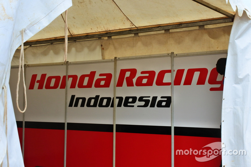 Garasi Honda Racing Indonesia