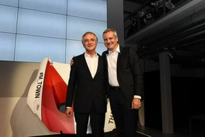 Charly Lamm with Jens Marquardt, BMW Motorsport Director