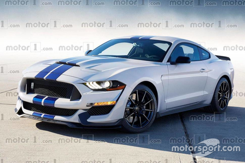Концепт Ford Mustang Shelby GT500