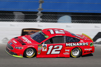 Ryan Blaney, Team Penske, Ford Fusion Menards/Wrangler Riggs Workwear
