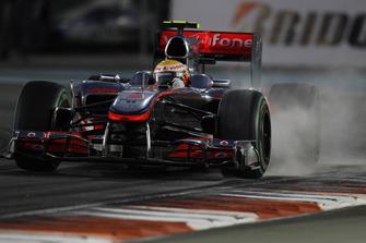Lewis Hamilton, McLaren MP4-25