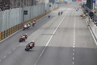 Michael Rutter, Aspire-Ho by Bathams Racing, Honda leads