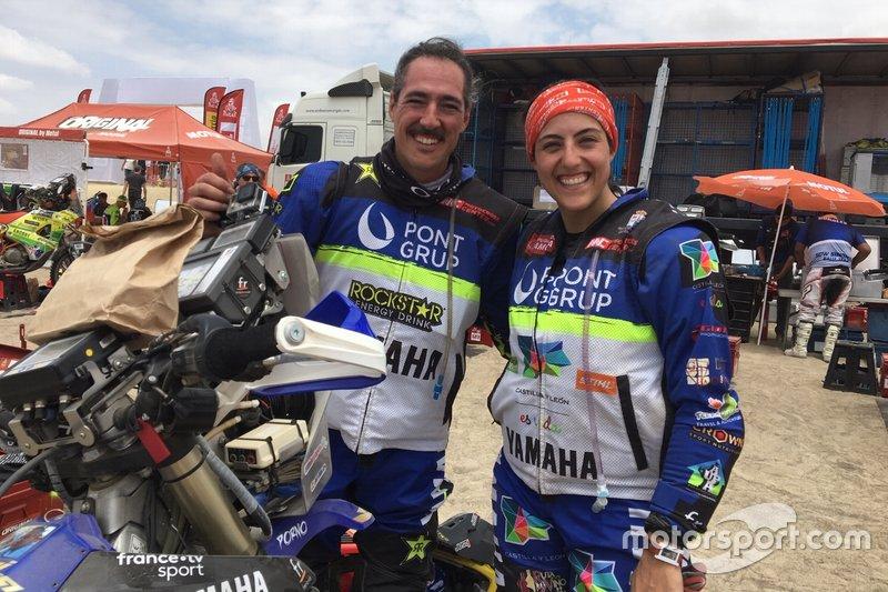 #98 Pont Grup Yamaha: Sara Garcia