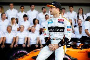Stoffel Vandoorne, McLaren, en het McLaren team