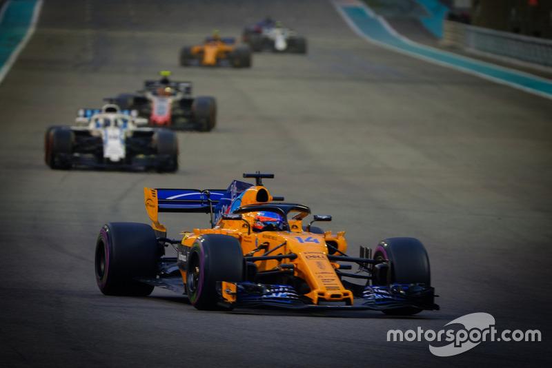 Fernando Alonso, McLaren MCL33, 2018