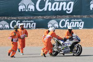 Xavier Simeon, Avintia Racing gecrashte motor