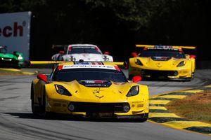 #3 Corvette Racing Chevrolet Corvette C7.R, GTLM: Antonio Garcia, Jan Magnussen, Marcel Fassler, #4 Corvette Racing Chevrolet Corvette C7.R, GTLM: Oliver Gavin, Tommy Milner, Marcel Fassler