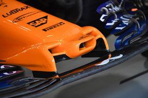 McLaren MCL33 detalle de nariz