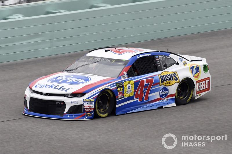 20. A.J. Allmendinger, JTG Daugherty Racing, Chevrolet Camaro Kroger ClickList