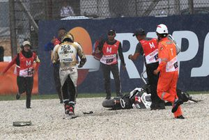 После аварии: Карел Абрагам, Angel Nieto Team