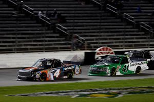 Todd Gilliland, Kyle Busch Motorsports, Toyota Tundra JBL/SiriusXM, Ben Rhodes, ThorSport Racing, Ford F-150 The Carolina Nut Co