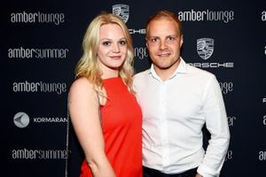 Valtteri Bottas and his girlfriend Emilia Pikkarainen
