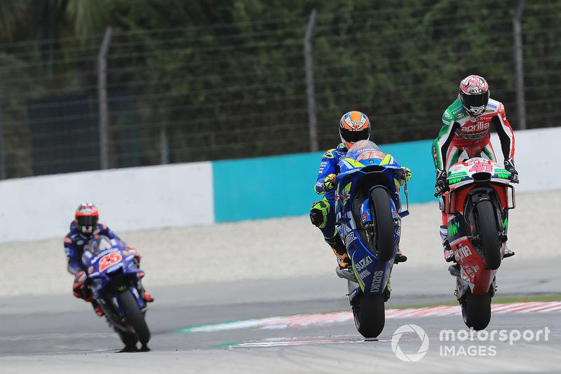 Aleix Espargaro, Aprilia Racing Team Gresini, Alex Rins, Team Suzuki MotoGP