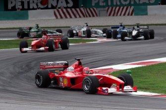 Michael Schumacher, Rubens Barrichello, Ferrari F1-2000
