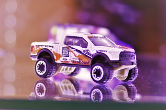 Diecast Ford Raptor Hot Wheels